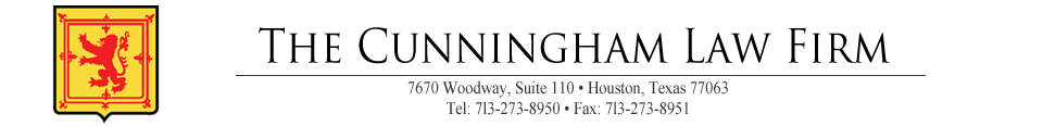 The Cunningham Law Firm logo